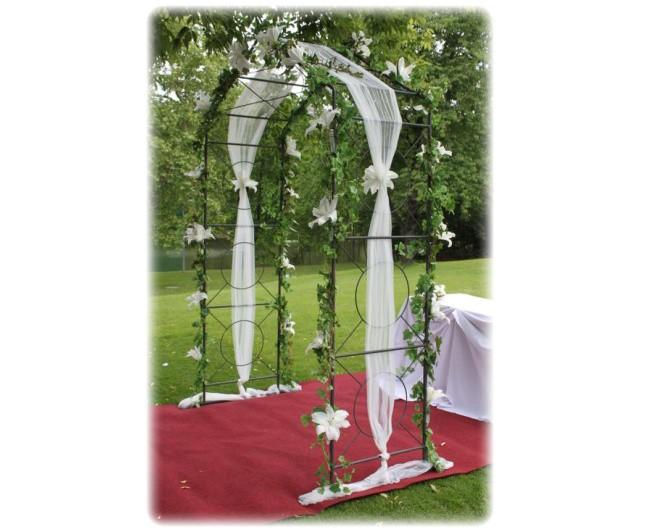 Svatebni Oblouk Kvetiny Babeta