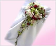 Svatební kytice  208