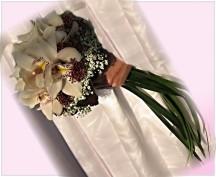 Svatební kytice 302