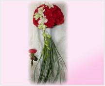 Svatební kytice 303
