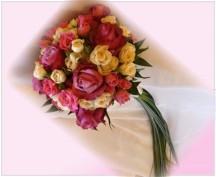 Svatební kytice 304