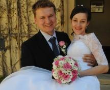 Svatba na zámku v Mníšku