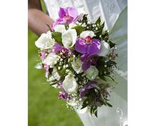 Převislé svatební kytice
