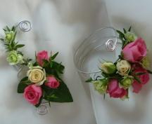 Květinové přízdoby a šperky